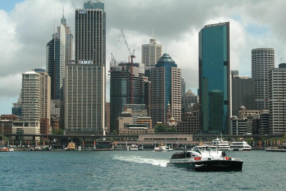 Sydney's Circular Quay by Kezzarama