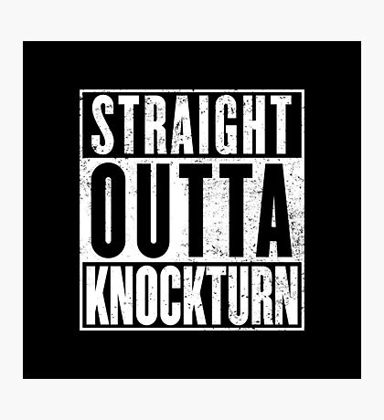 Straight Outta Knockturn Photographic Print