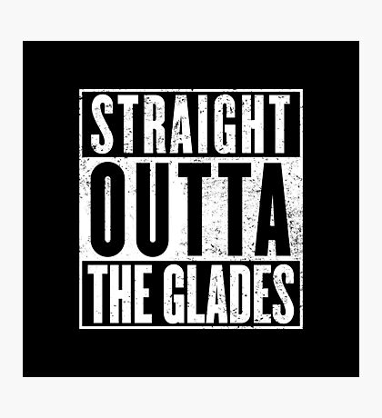 Straight Outta The Glades Photographic Print