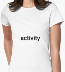 activity Women's Fitted T-Shirt