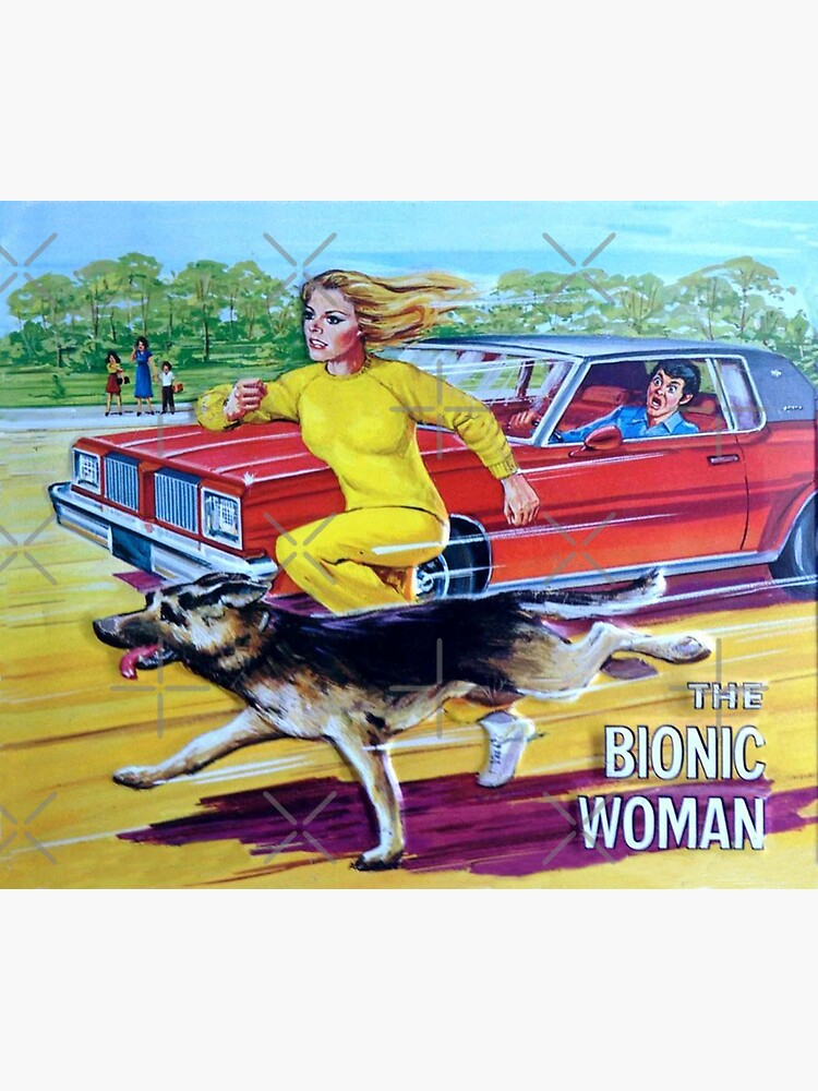 """""""Bionic Woman"""" Sticker by holidays4you 