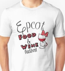 Epcot Food and Wine Festival Minnie Mouse T-Shirt