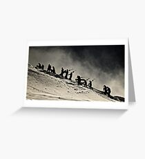 The Summit Hike Greeting Card