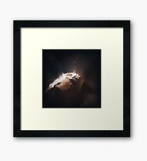 Above the Comet Framed Print