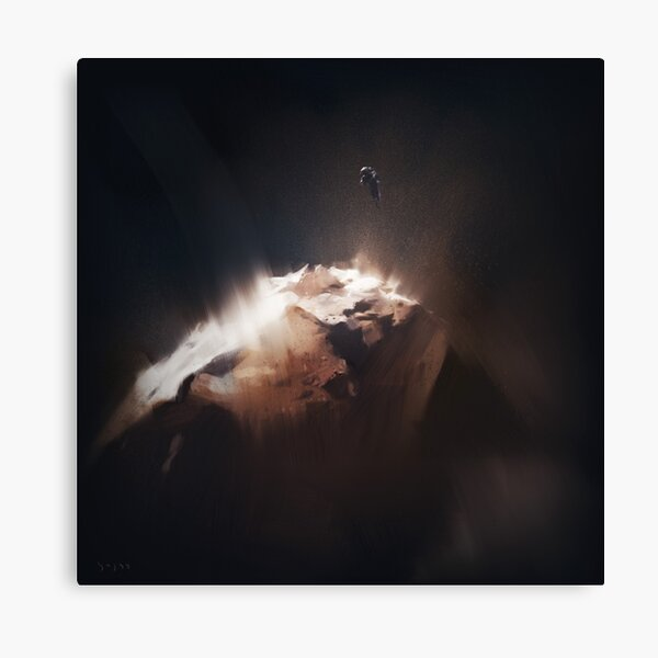 Above the Comet Canvas Print