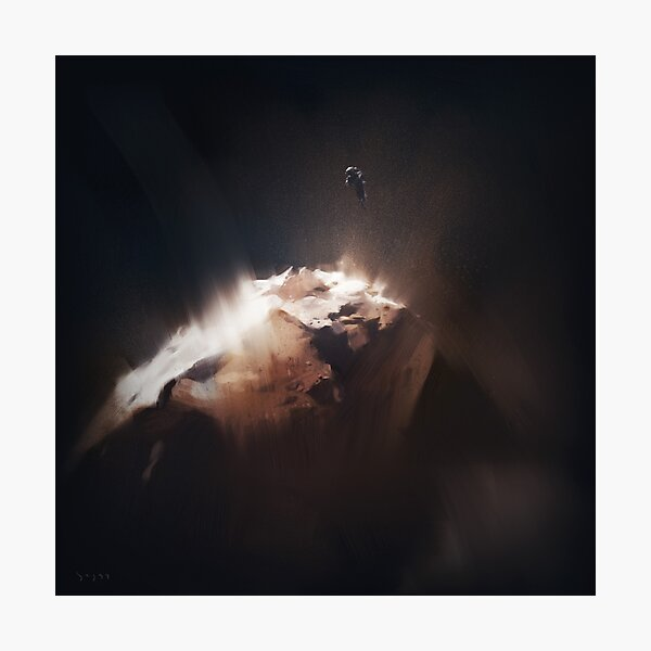 Above the Comet Photographic Print