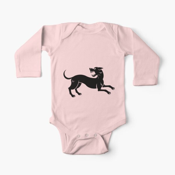 Hound Long Sleeve Baby One-Piece