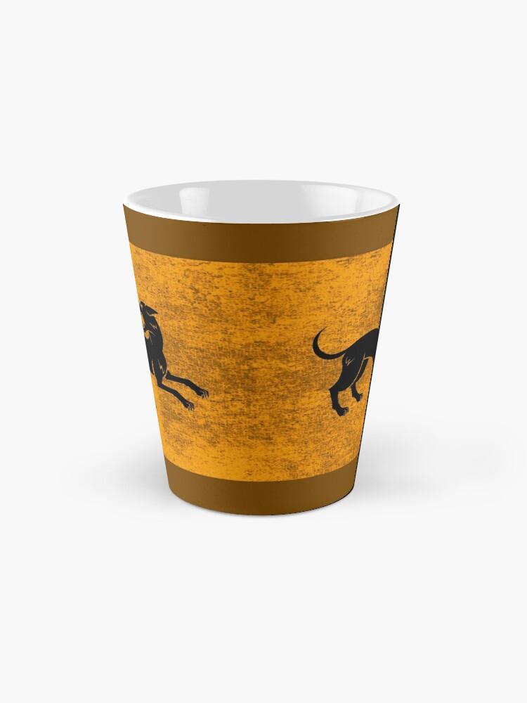 Alternate view of Hound Mug