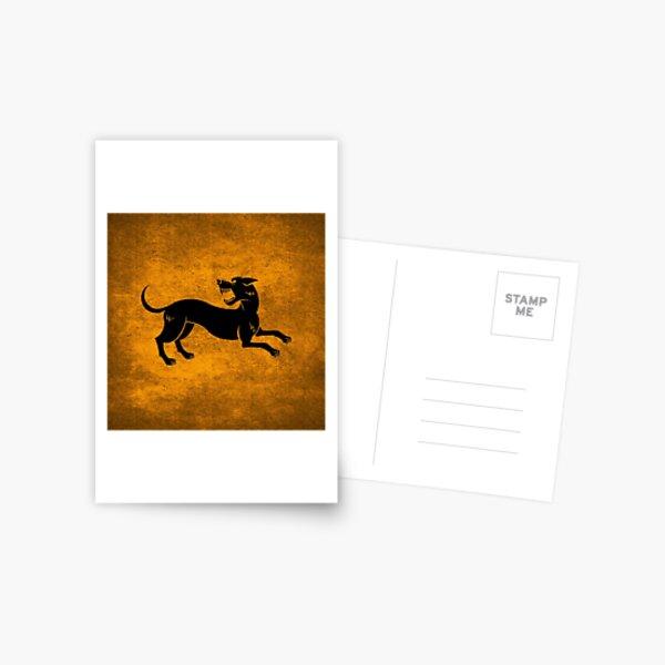 Hound Postcard