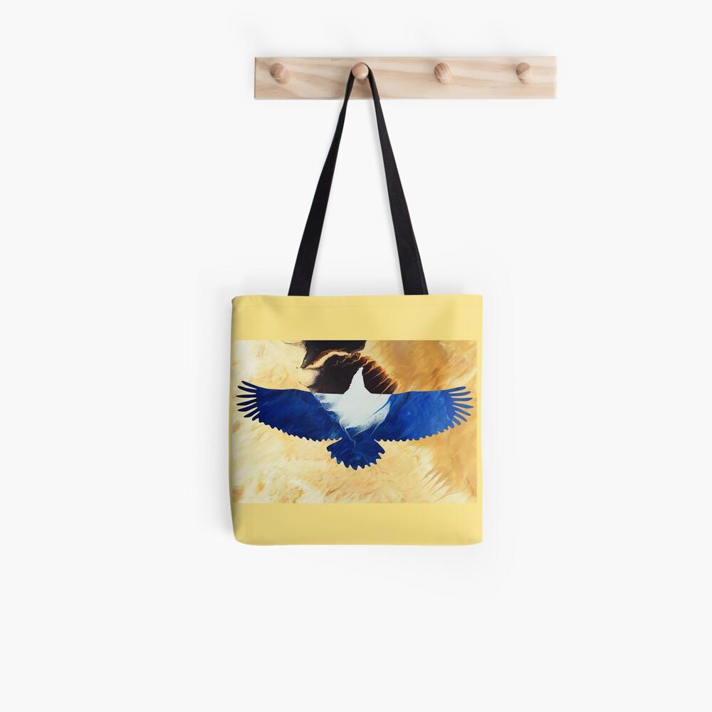 Eagle Soaring Tote Bag