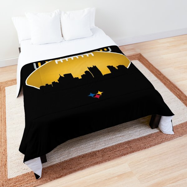 Pittsburgh Football Skyline Comforter