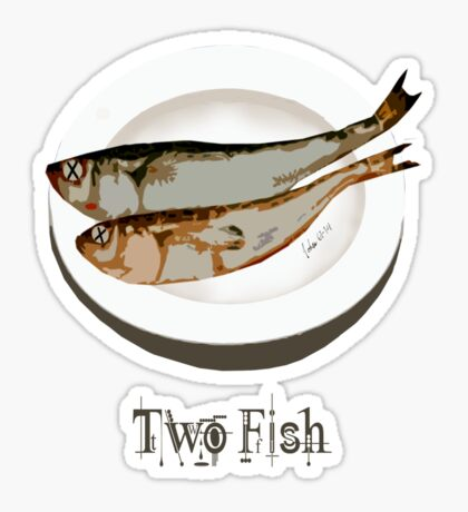 Two Fishes Sticker