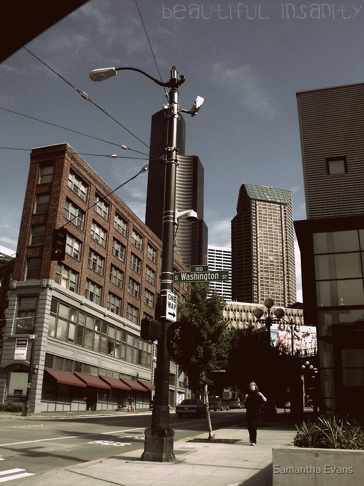 Welcome to Seattle by Samantha Evans