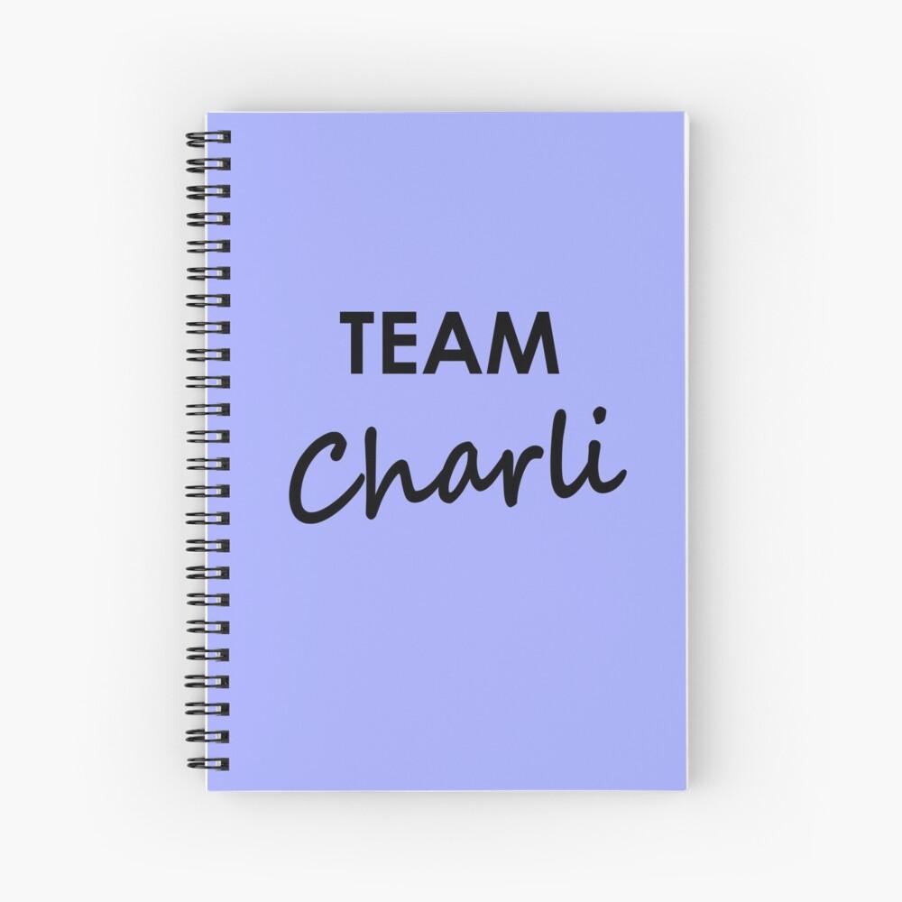 Team Charli - Notebook Spiral Notebook