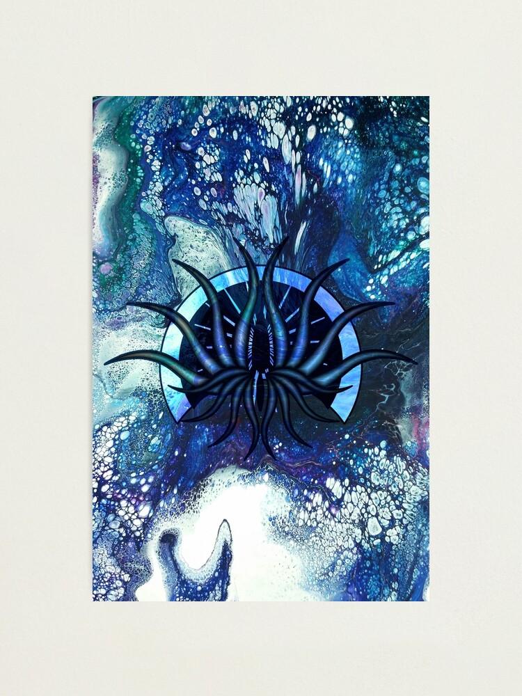 Alternate view of Portal: monster art Photographic Print