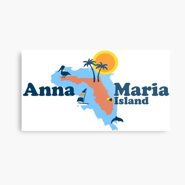 Anna Maria Island. Metal Print