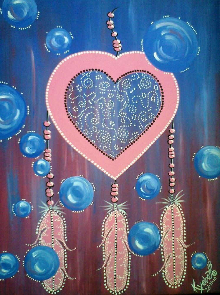 Bubble Heart  by Kyobe