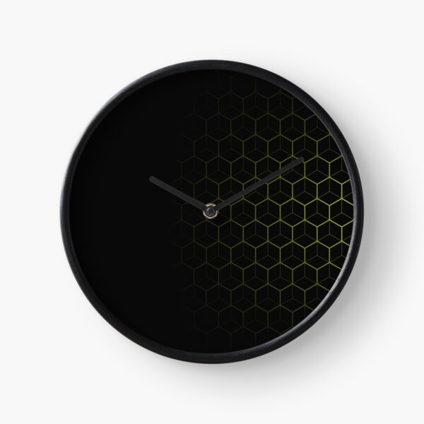 Very Cool, Super Awesome and kind of Pretty Amazing Abstract Pattern Clock