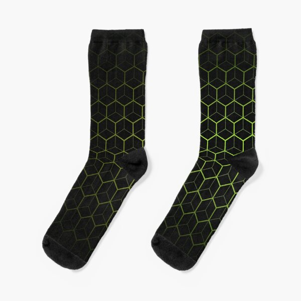 Very Cool, Super Awesome and kind of Pretty Amazing Abstract Pattern Socks