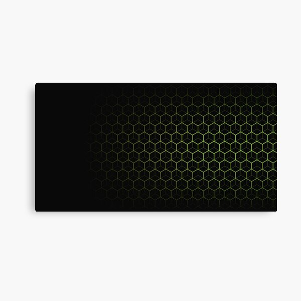 Very Cool, Super Awesome and kind of Pretty Amazing Abstract Pattern Canvas Print