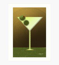 New Martini Art Print