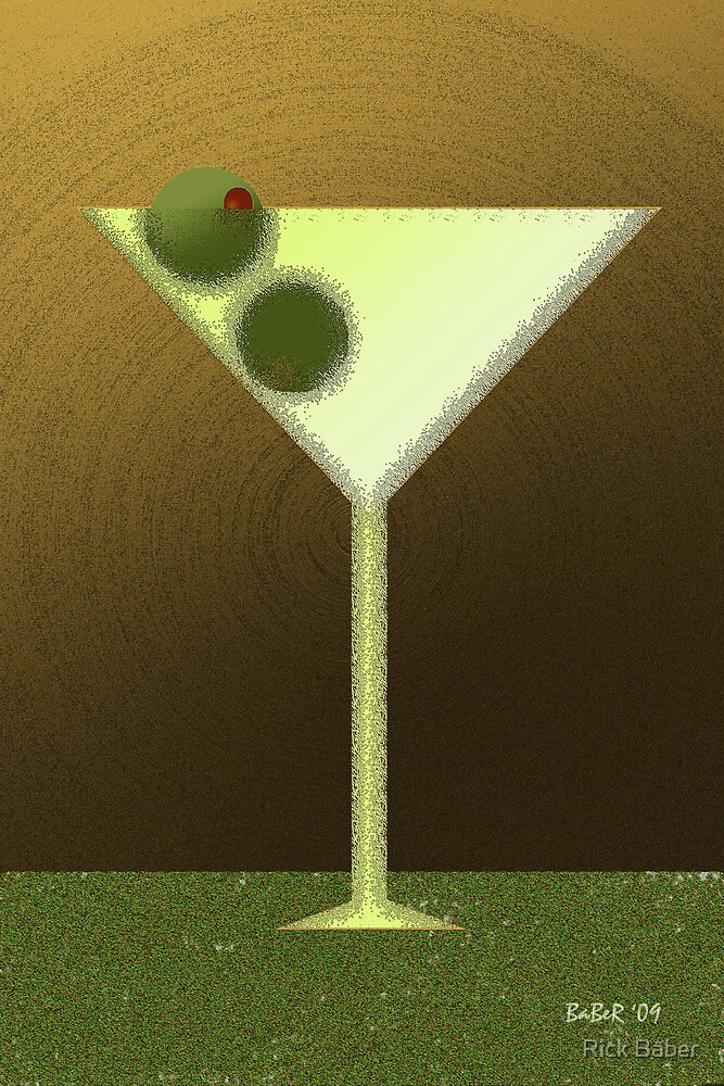 New Martini by Rick Baber