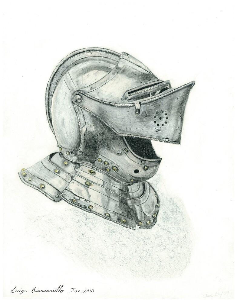 Close Helmet by Luigi Biancaniello