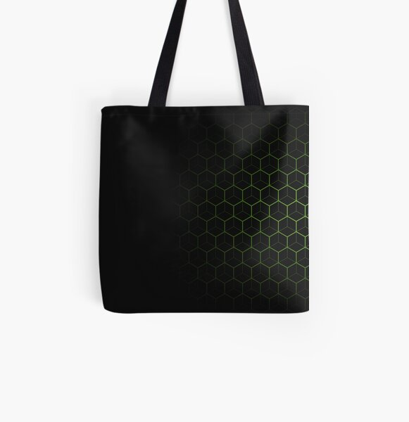 Very Cool, Super Awesome and kind of Pretty Amazing Abstract Pattern All Over Print Tote Bag
