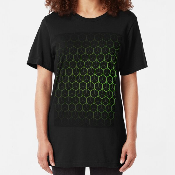 Very Cool, Super Awesome and kind of Pretty Amazing Abstract Pattern Slim Fit T-Shirt