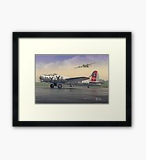 Yankee Lady Framed Print