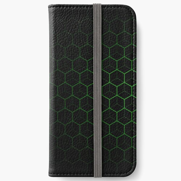Very Cool, Super Awesome and kind of Pretty Amazing Abstract Pattern iPhone Wallet