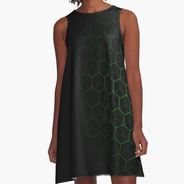 Very Cool, Super Awesome and kind of Pretty Amazing Abstract Pattern A-Line Dress