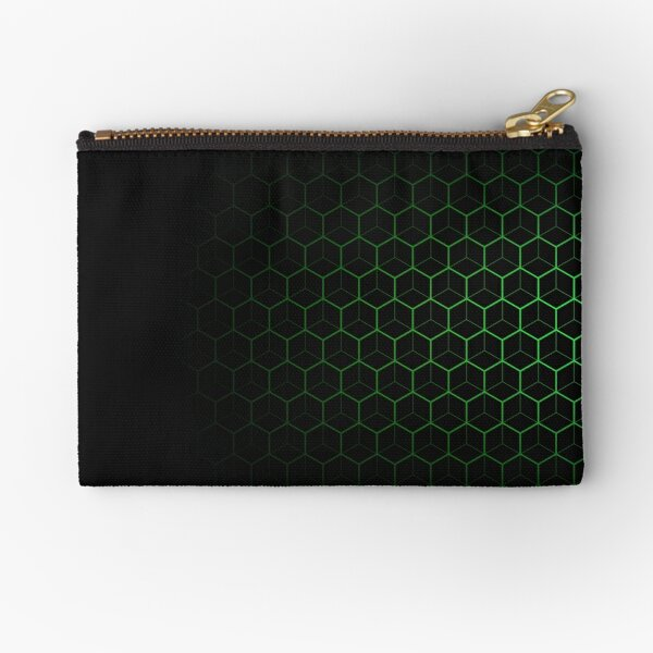 Very Cool, Super Awesome and kind of Pretty Amazing Abstract Pattern Zipper Pouch