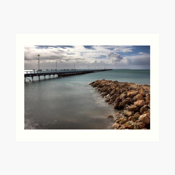 Beachport Pier Art Print