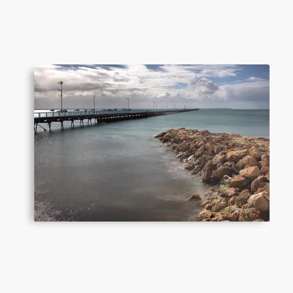 Beachport Pier Metal Print