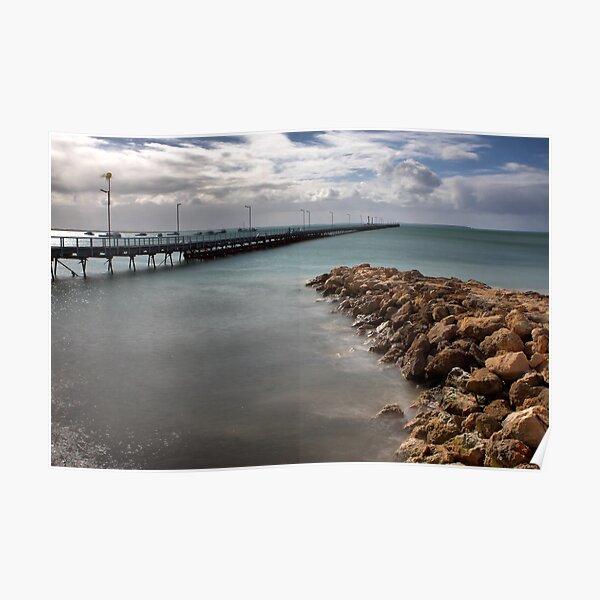 Beachport Pier Poster