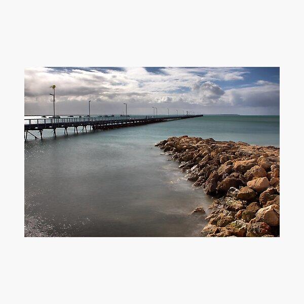 Beachport Pier Photographic Print