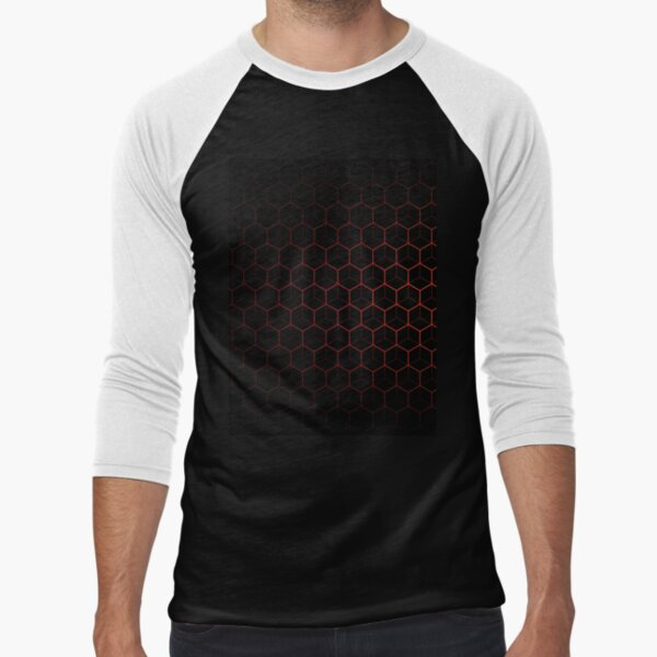 Very Cool, Super Awesome and kind of Pretty Amazing Abstract Pattern Baseball ¾ Sleeve T-Shirt