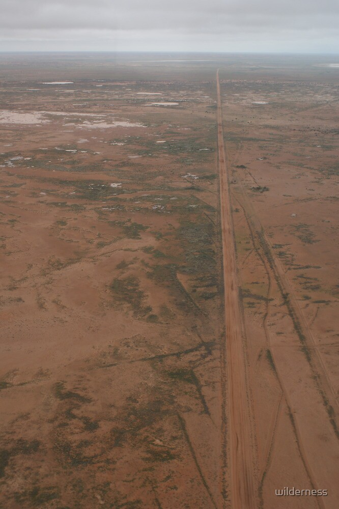 Long Track to the Outback by wilderness