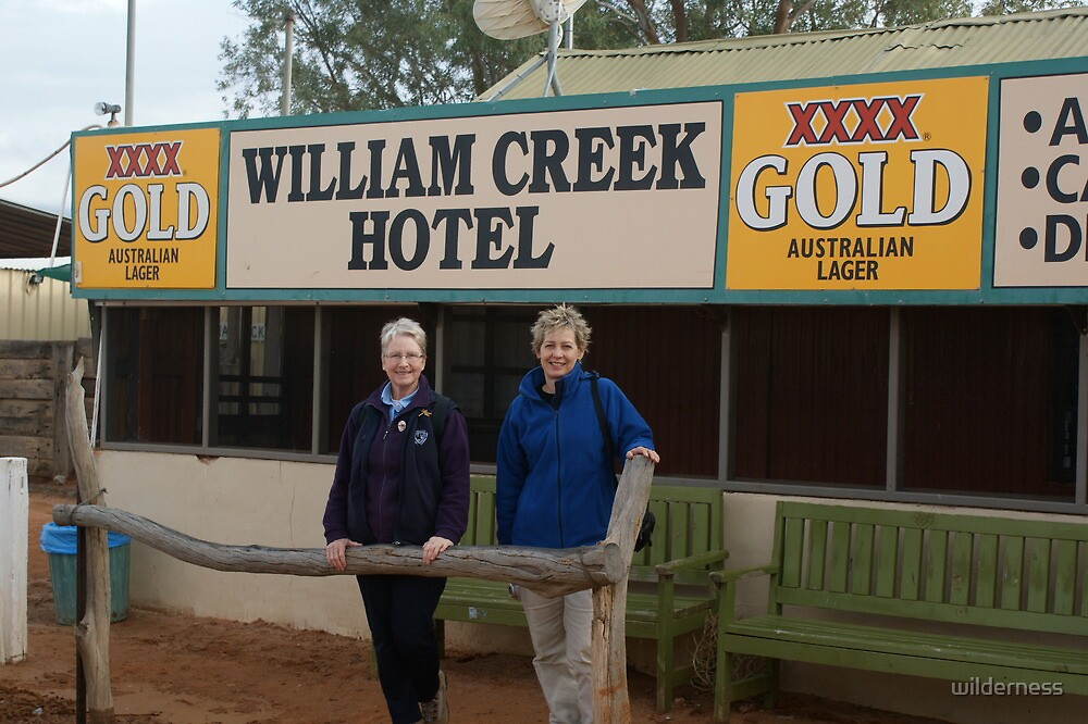 Aussie Pub in the Outback by wilderness