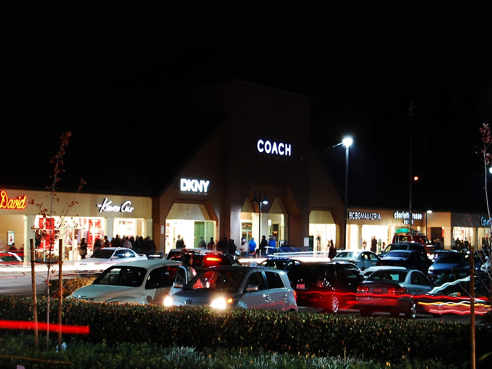 Black Friday at Coach, Vacaville Premium Outlets 2010 by Howard Lorenz