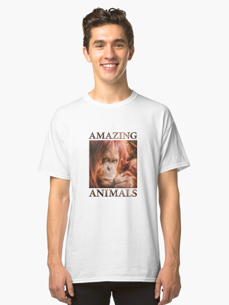 Alternate view of Just Think Hard II  (digital painting) Classic T-Shirt
