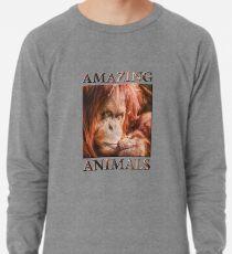 Just Think Hard II  (digital painting) Lightweight Sweatshirt