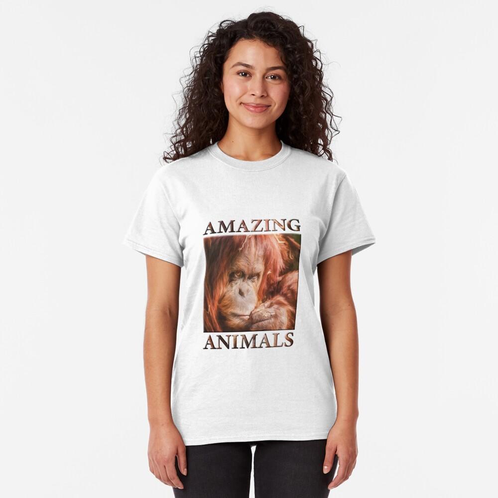 Just Think Hard II  (digital painting) Classic T-Shirt