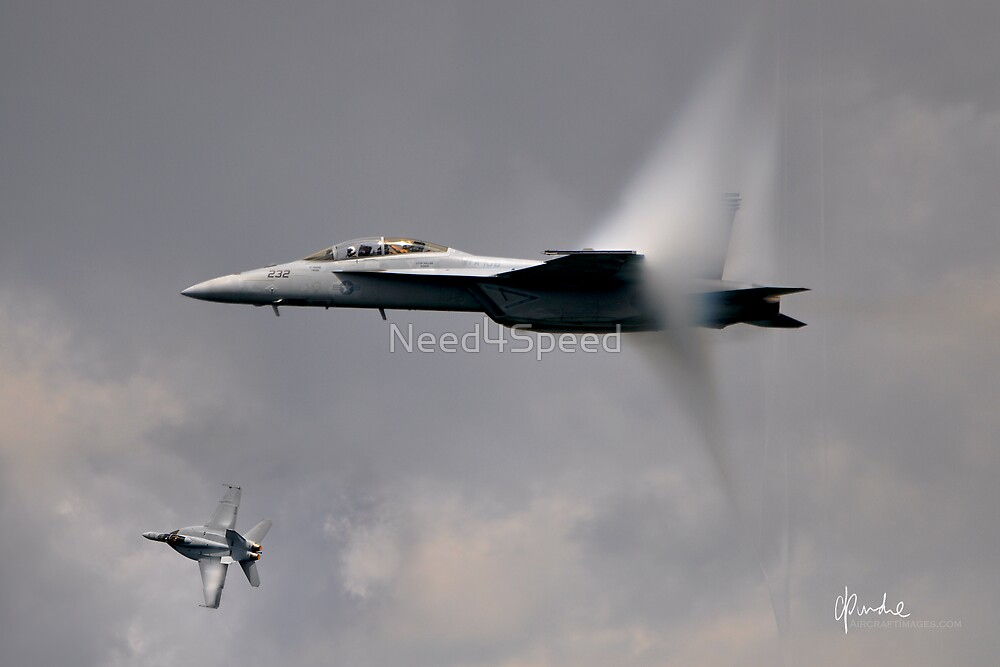 Super Hornets in Flight by Need4Speed