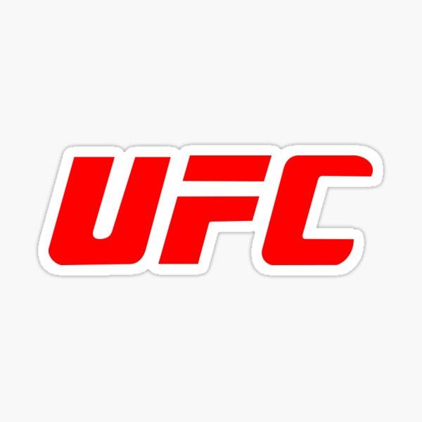 UFC Merch Pegatina