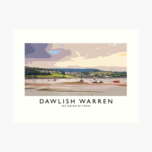 Dawlish Warren (Railway Poster) Art Print