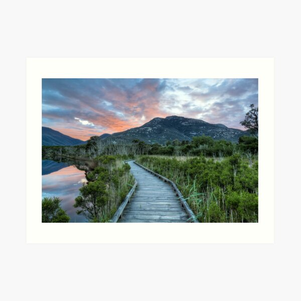 The Road to Mt.Oberon Art Print