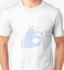 Holographic Ok Emoji Hand T-Shirt