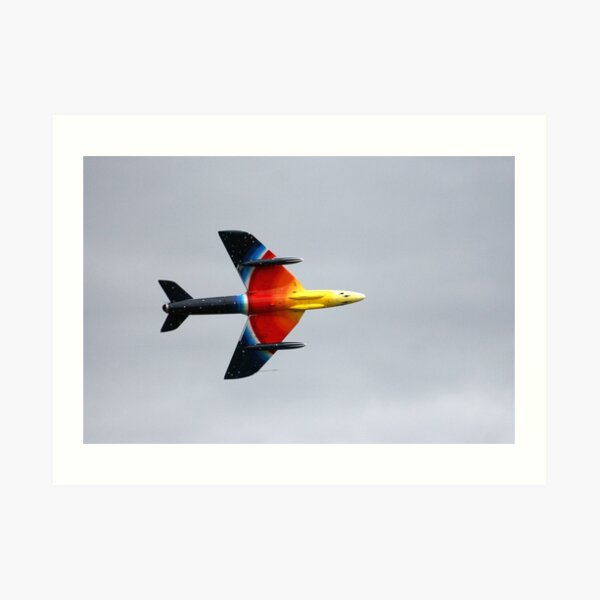 Hawker Hunter F58A Art Print